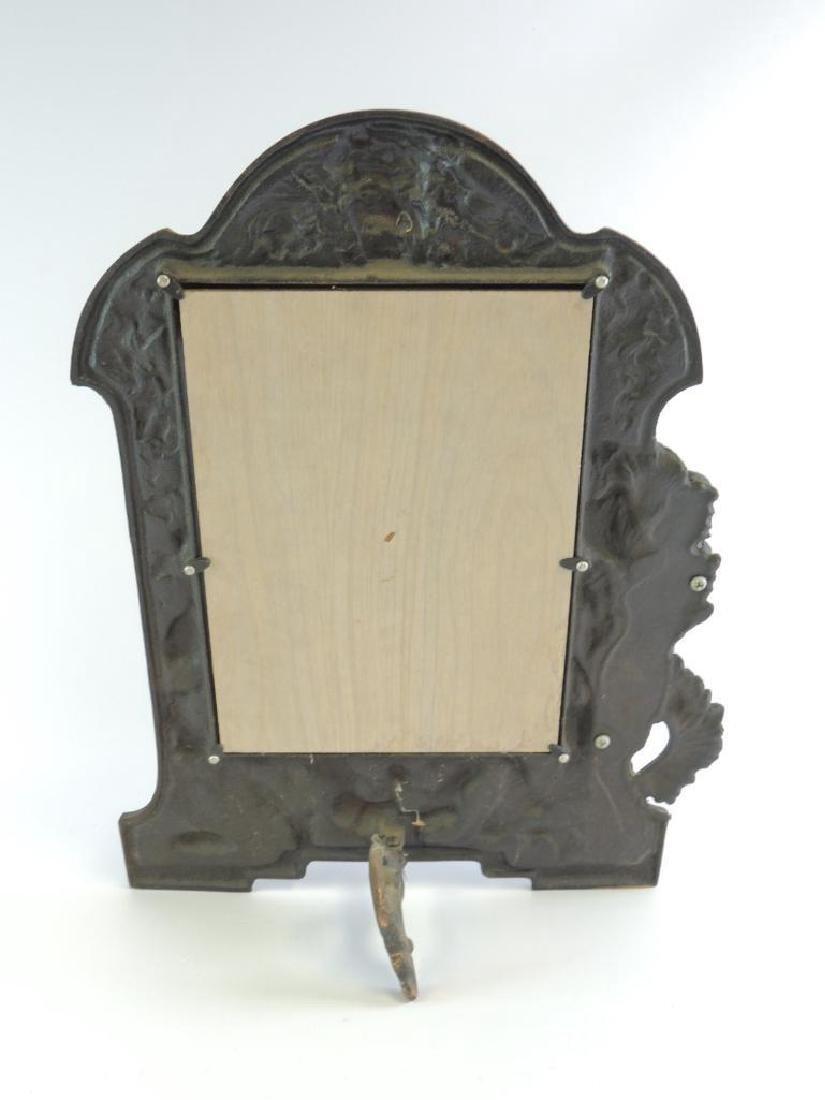 Vintage Cast Bacchus Picture Frame - 2