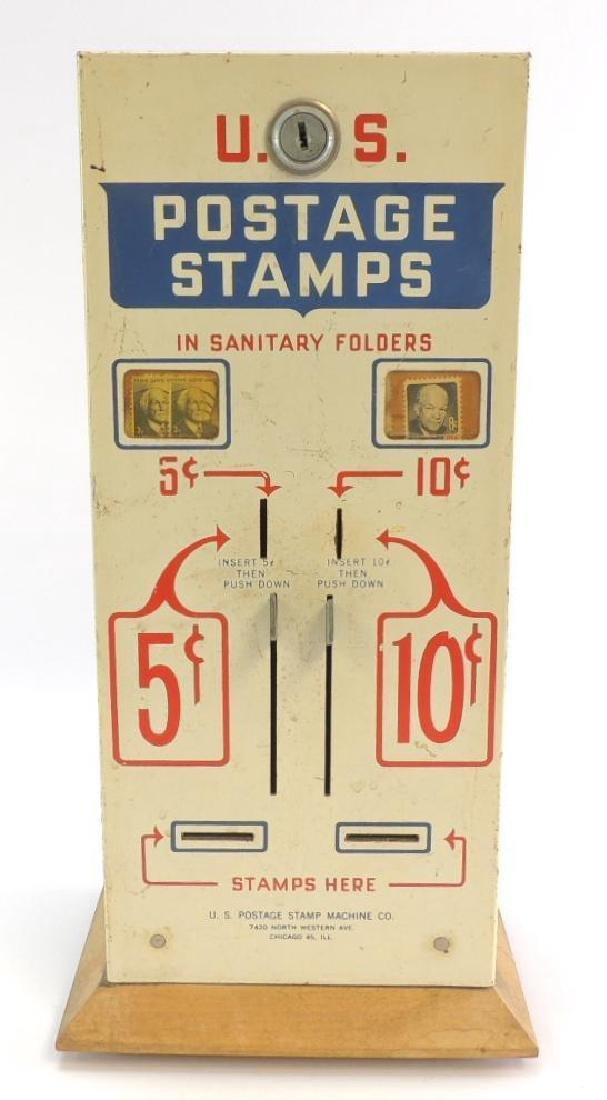 Vintage U.S. Postage Stamp Vending Machine