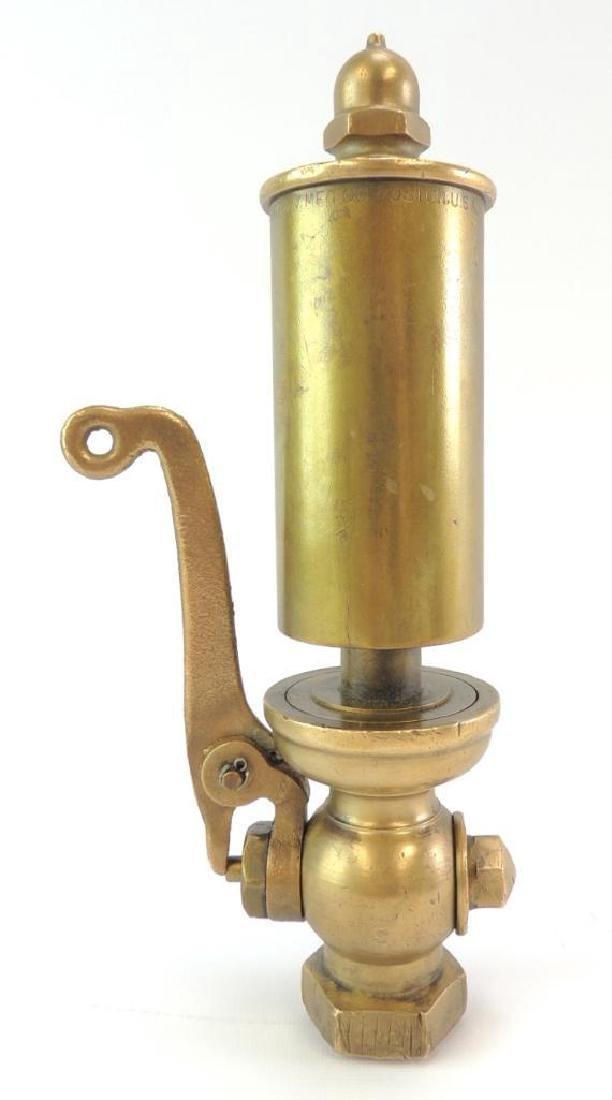 Antique American Steam Gauge & V Mfg. Co. Single Valve