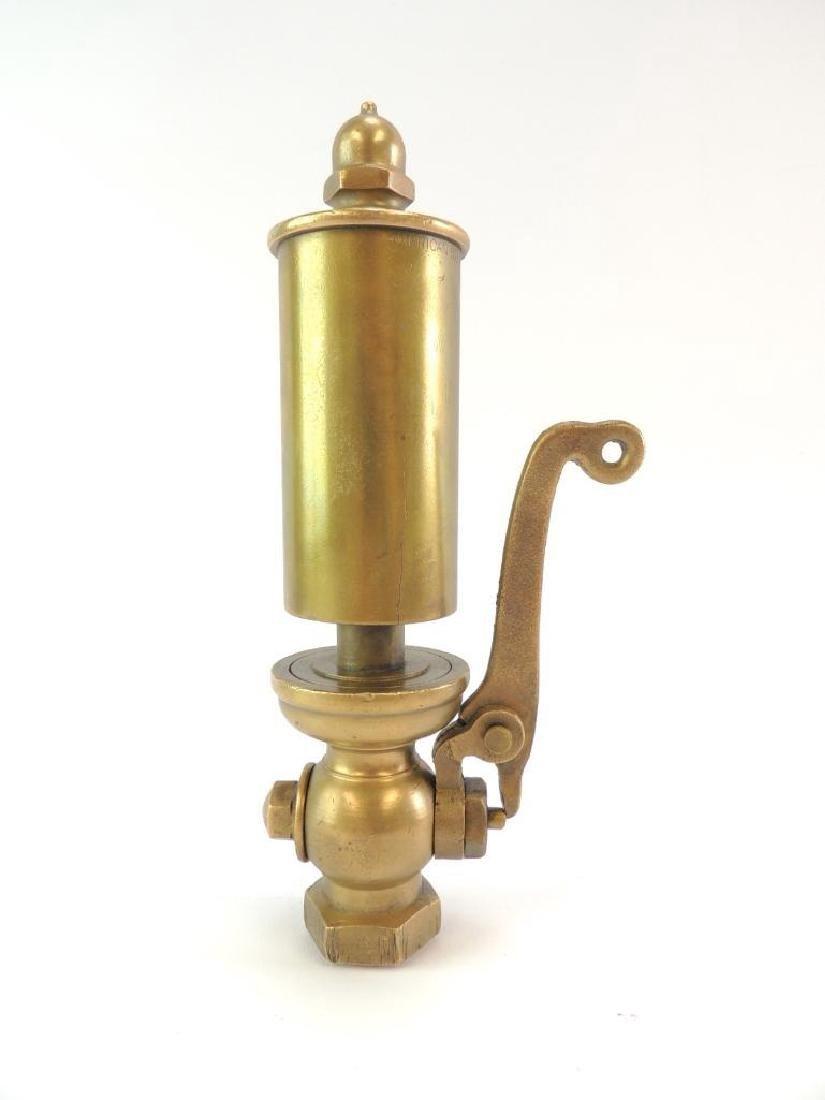 Antique American Steam Gauge & V Mfg. Co. Single Valve - 5