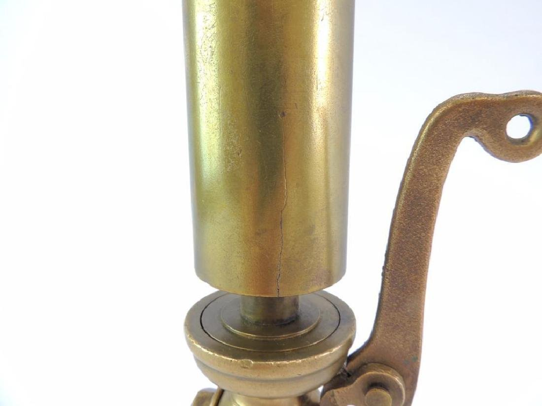 Antique American Steam Gauge & V Mfg. Co. Single Valve - 6