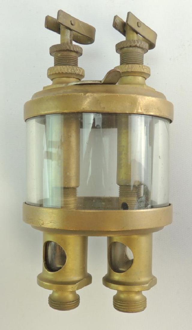 Antique W.H. Wilkinson Double Percolator Engine Oiler