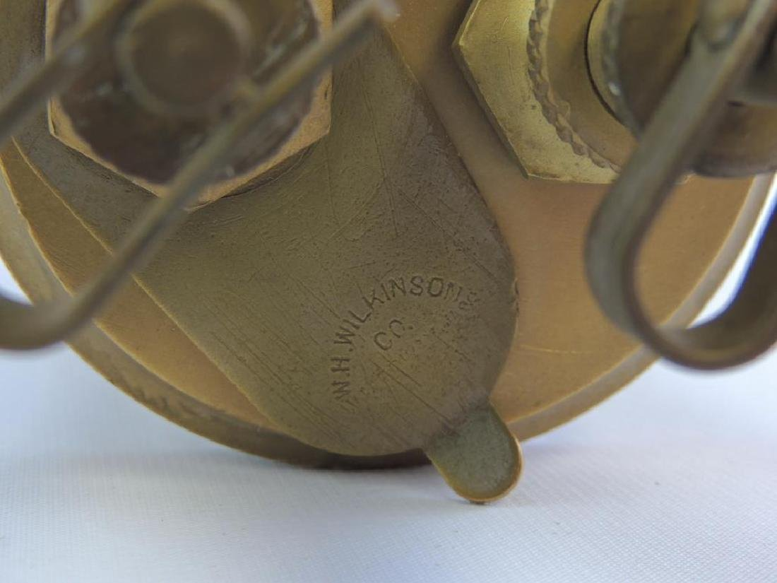 Antique W.H. Wilkinson Double Percolator Engine Oiler - 4