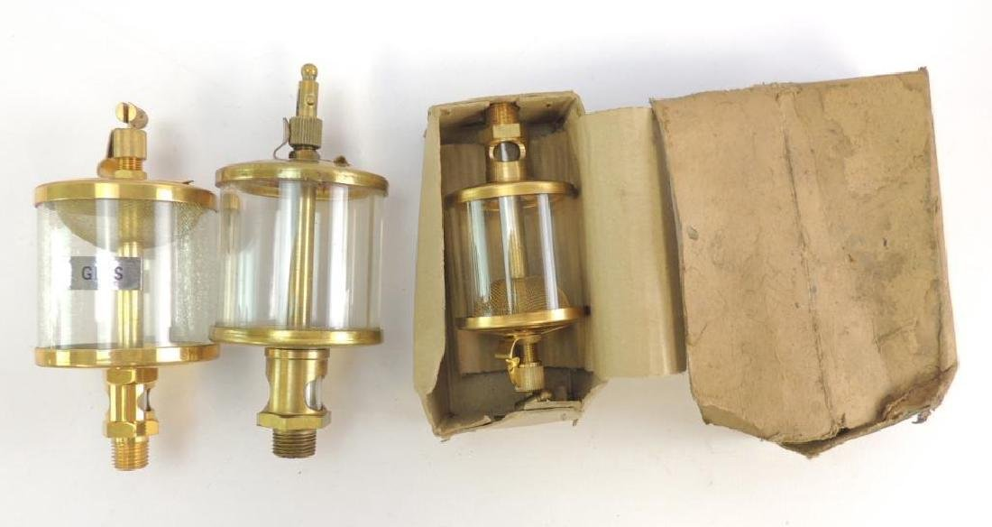 Group of 3 Vintage Hit and Miss/Steam Engine Brass