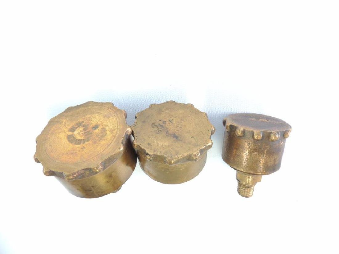 Group of 3 Antique Hit and Miss/Steam Engine Brass - 2