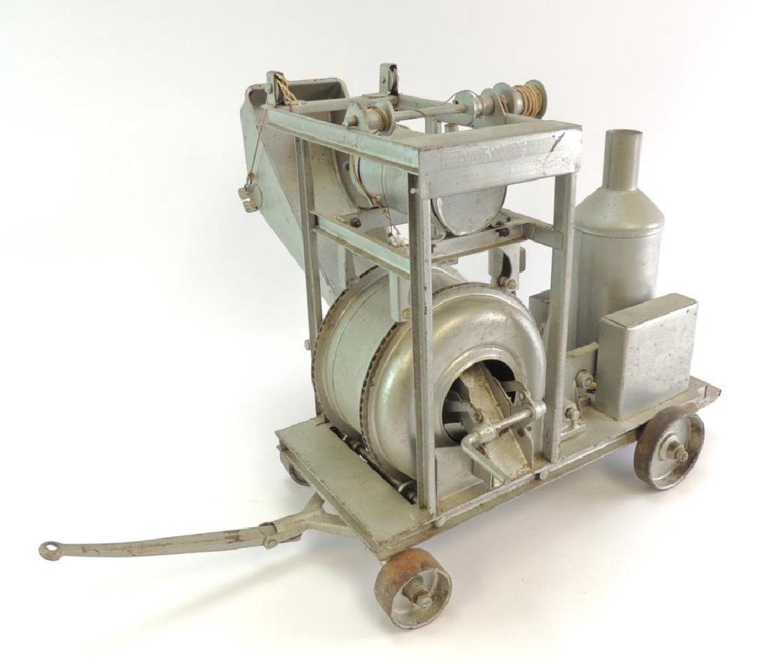 Rare Antique Buddy L Pressed Steel Toy Cement Mixer