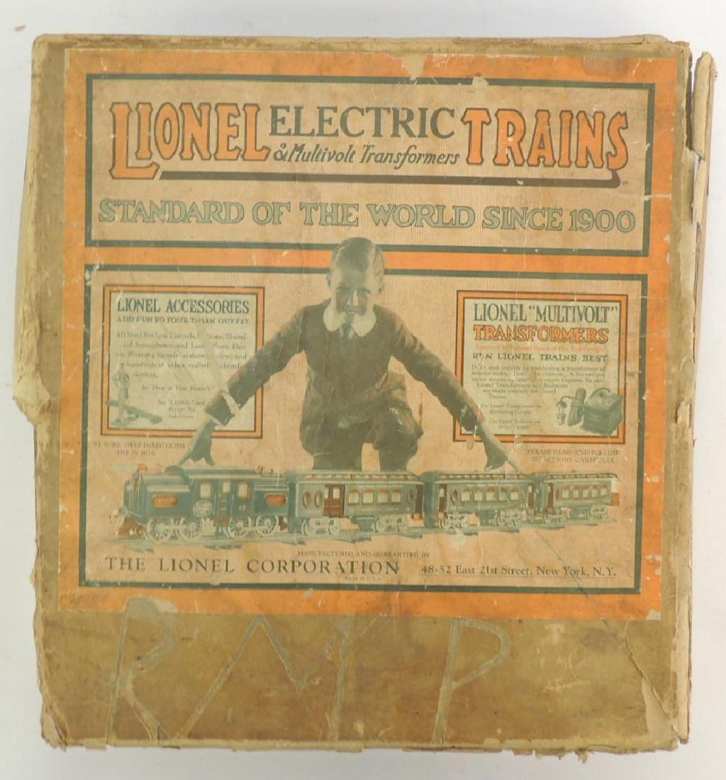 Antique Pre-War Lionel Electric O Gauge Train Set with