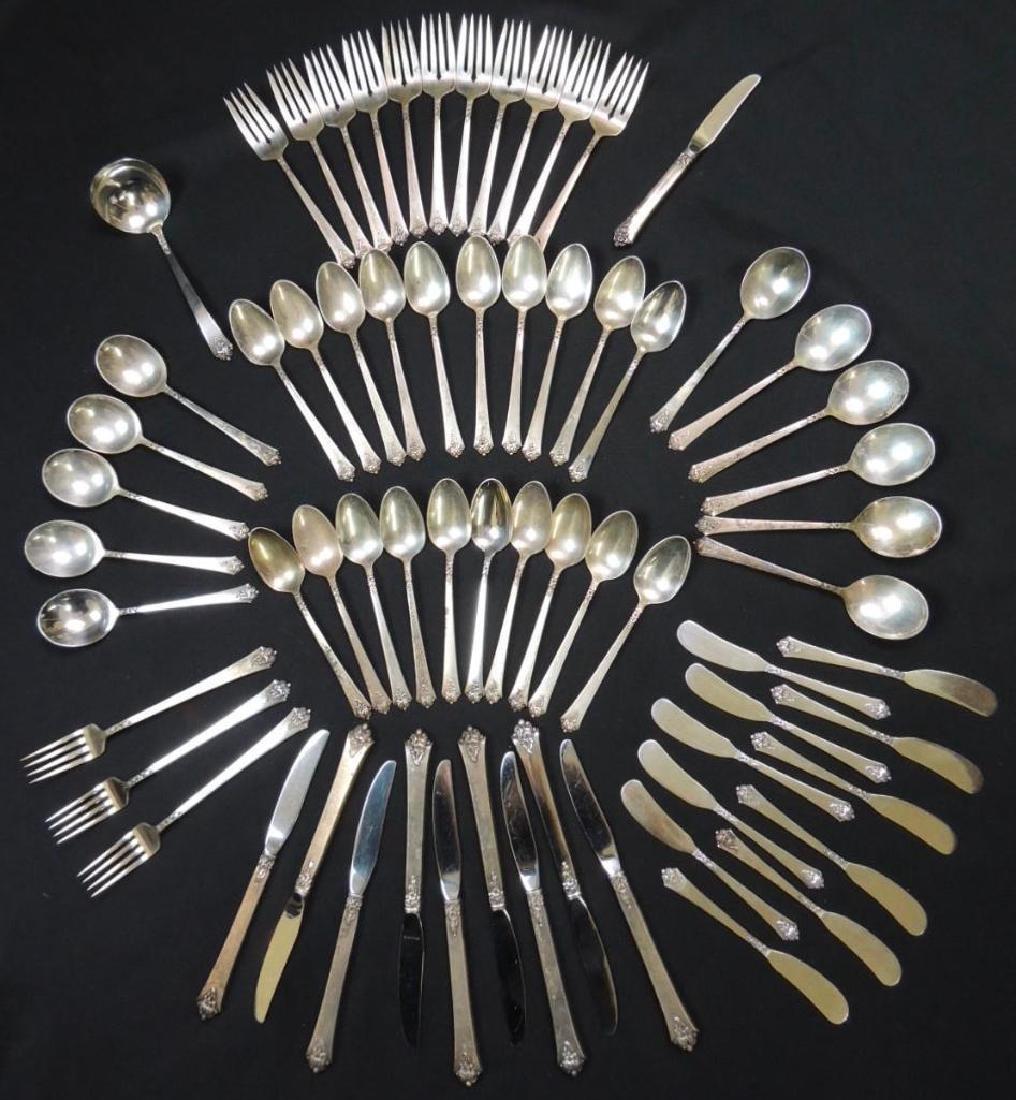 Royal Crest Sterling Silver Flatware (Castle Rose) - 67