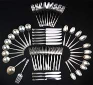 Towle Sterling Silver Flatware Rambler Rose  50