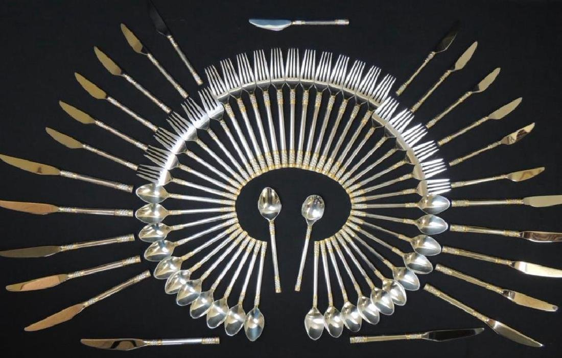 Wallace Sterling Silver Flatware (Golden Agean Weave) -