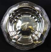 Whiting Sterling Silver 12 Serving Bowl