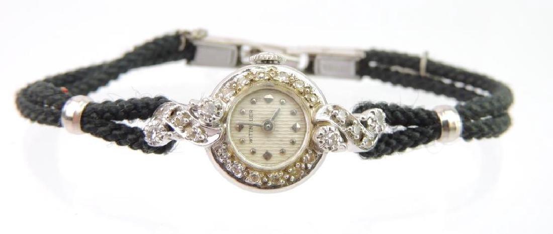 Wittnauer 14k and Diamond Wristwatch