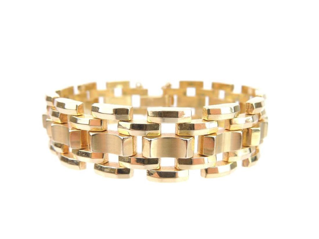 14k Yellow Gold Bracelet - 2