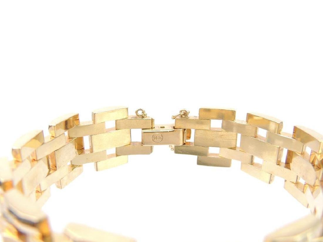 14k Yellow Gold Bracelet - 3