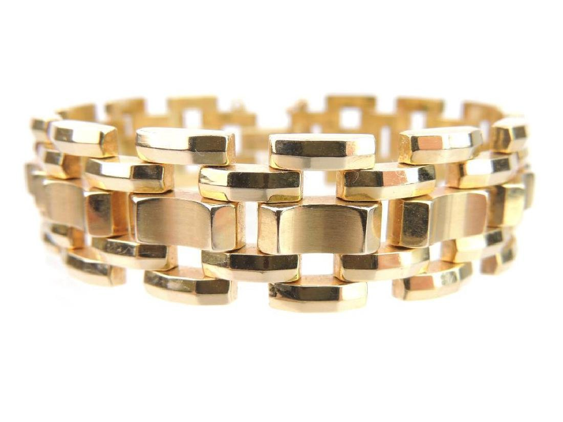 14k Yellow Gold Bracelet - 4