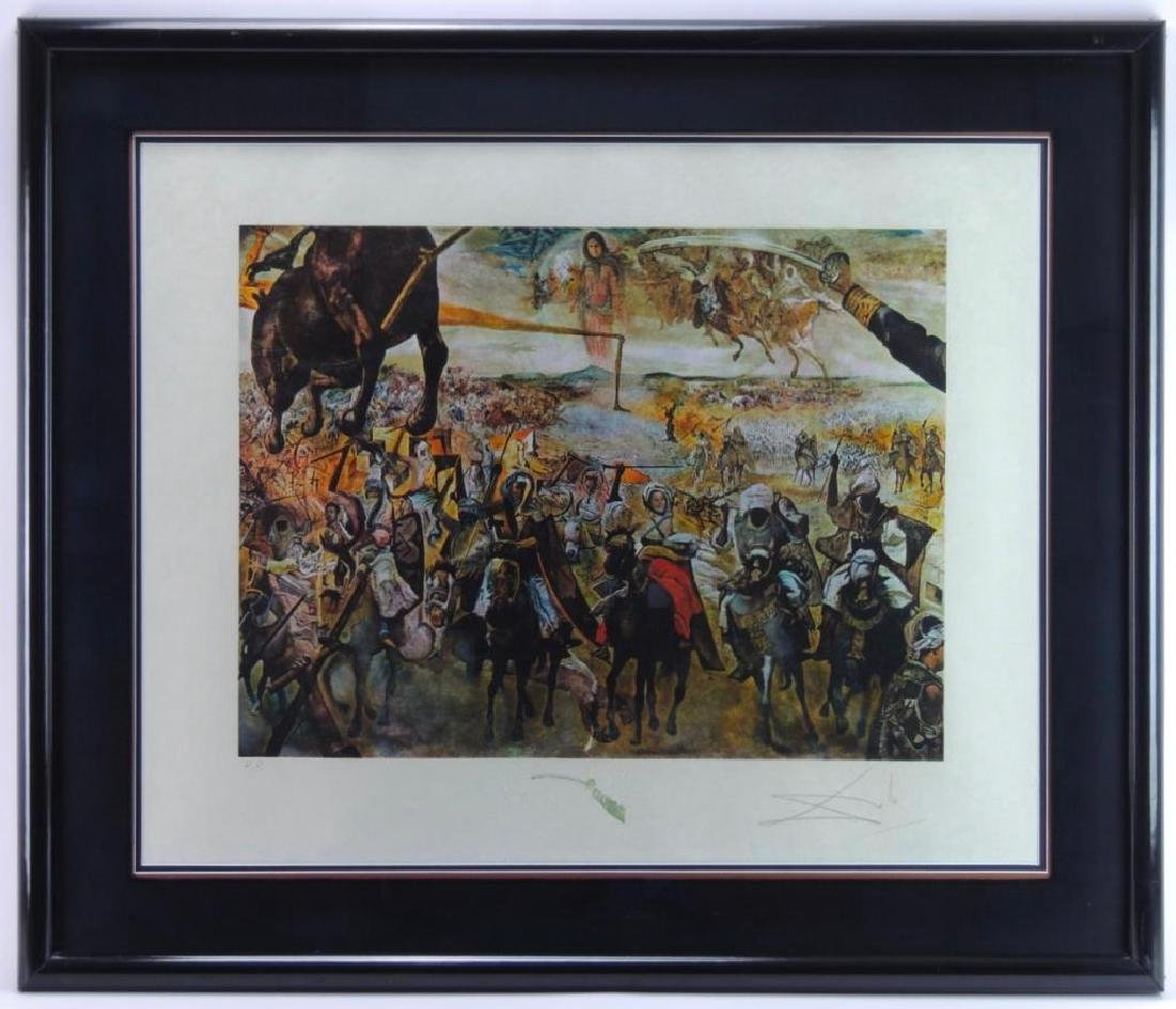 "Signed ""Battle of Tetuan"" by Salvador Original Artwork"