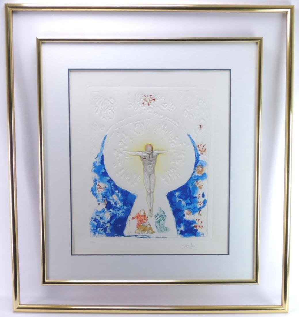 Signed Original Salvador Dali Limited Edition Artwork