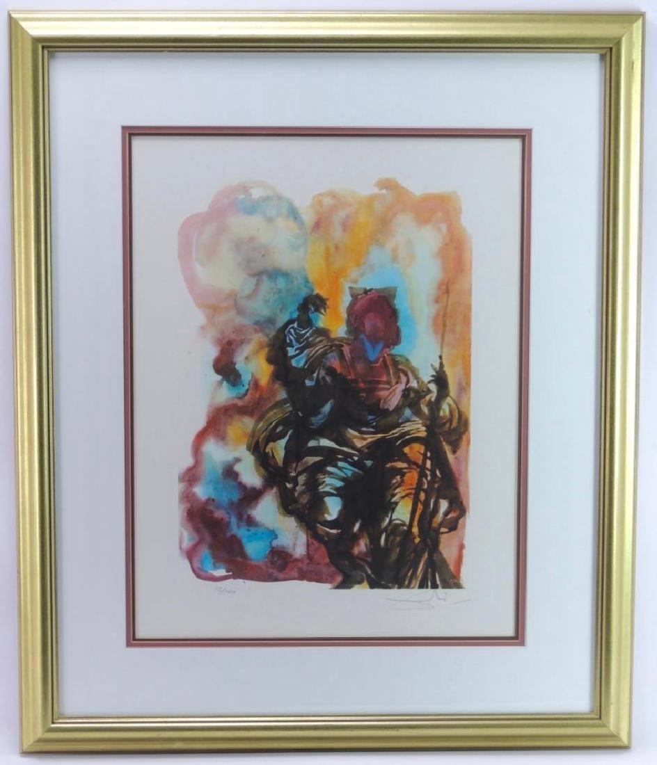 """Signed """"Gala"""" by Salvador Dali Original Artwork with"""