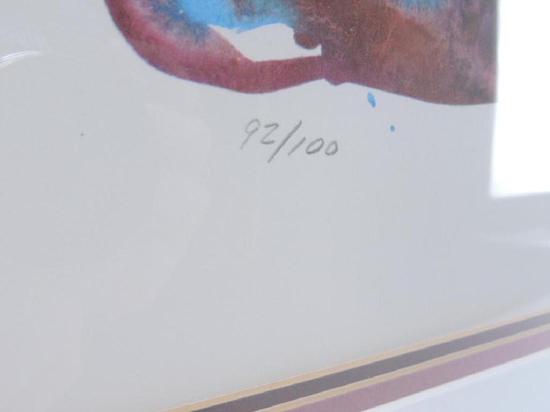 """Signed """"Gala"""" by Salvador Dali Original Artwork with - 2"""