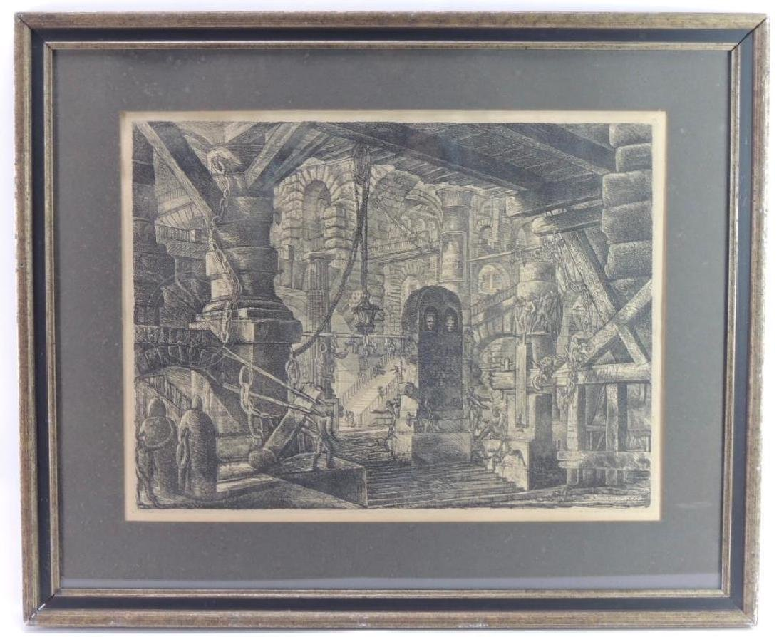 """The Pier with Chains"" by Giovanni Battista Piranesi :"
