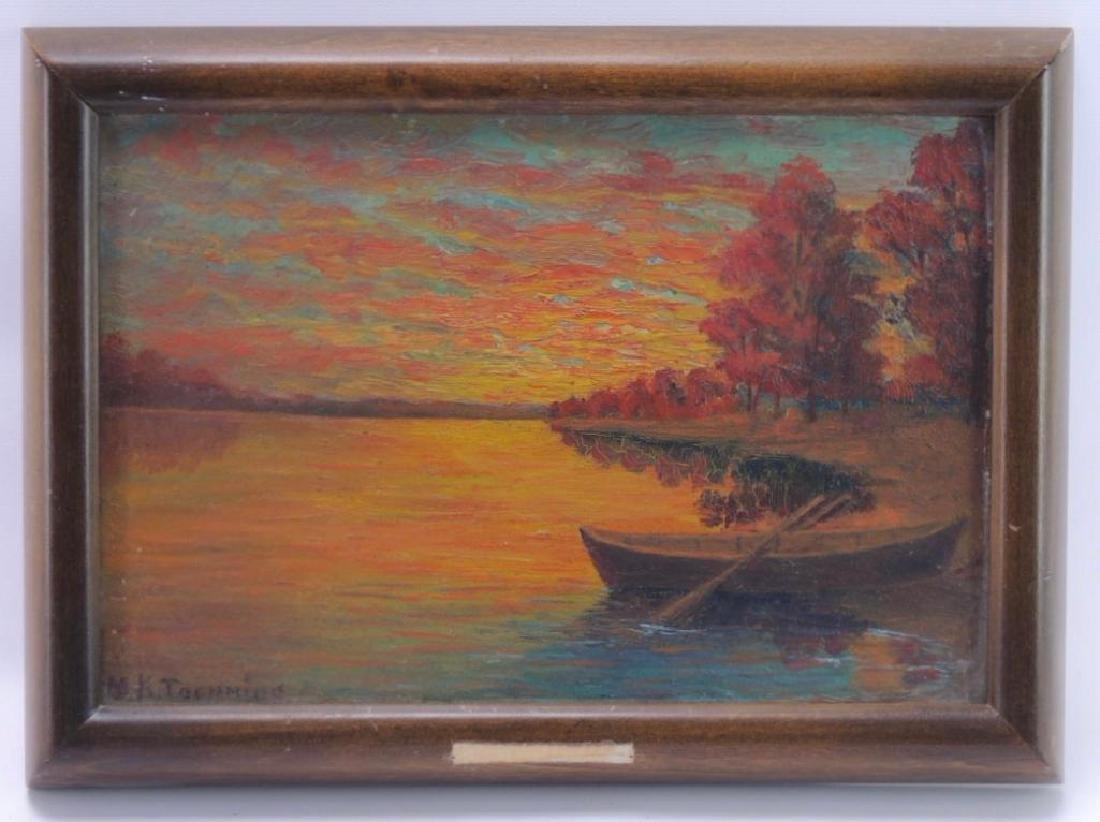 """Margaret K. Toennigs """"Untitled"""" Original Oil Painting"""