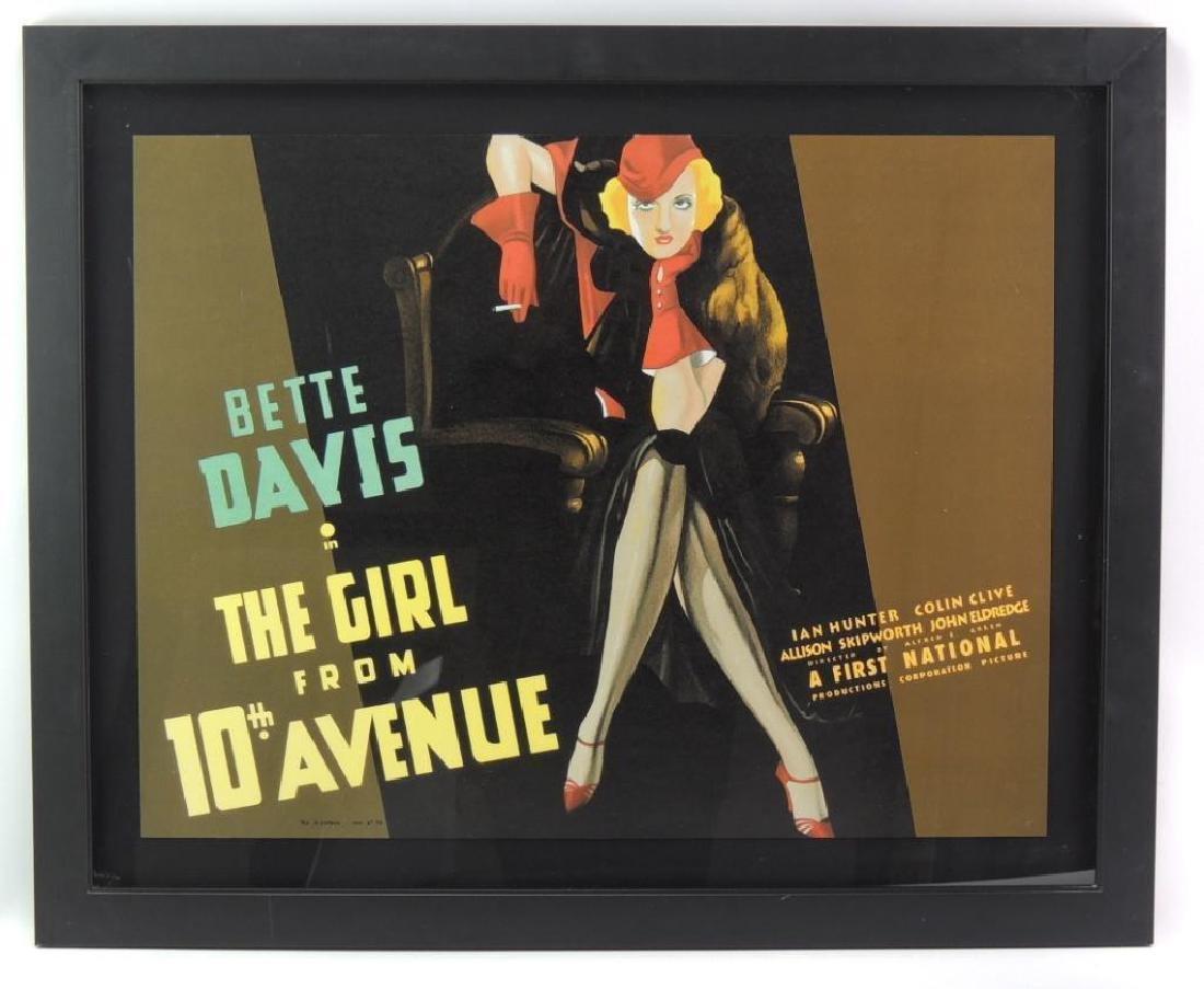 """Bette Davis in """"The Girl from 10th Avenue Framed"""
