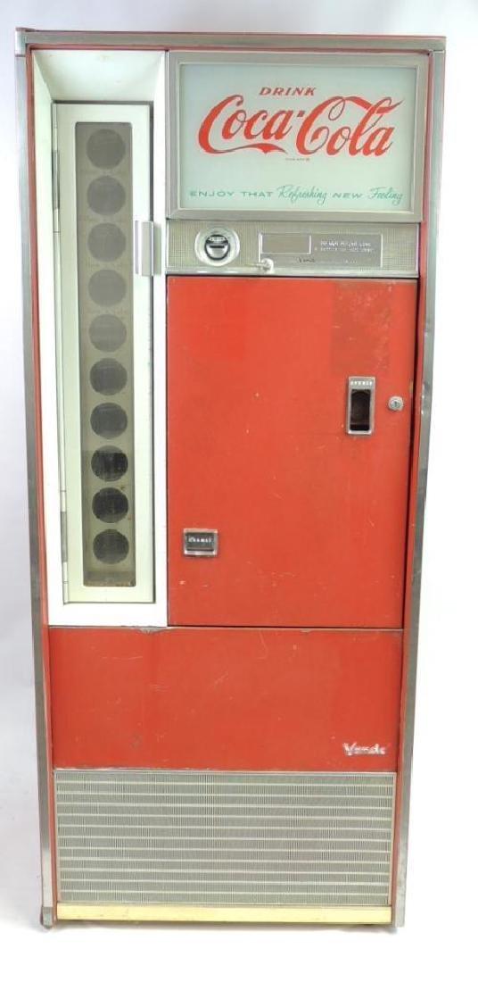 Vintage Coca Cola Vendo Multi Choice Vending Machine