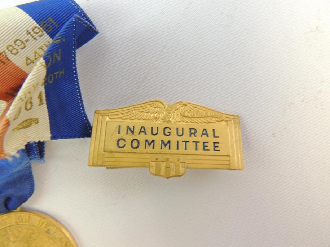 Group of 1961 Presidential Inauguration Medal and Pin - 3