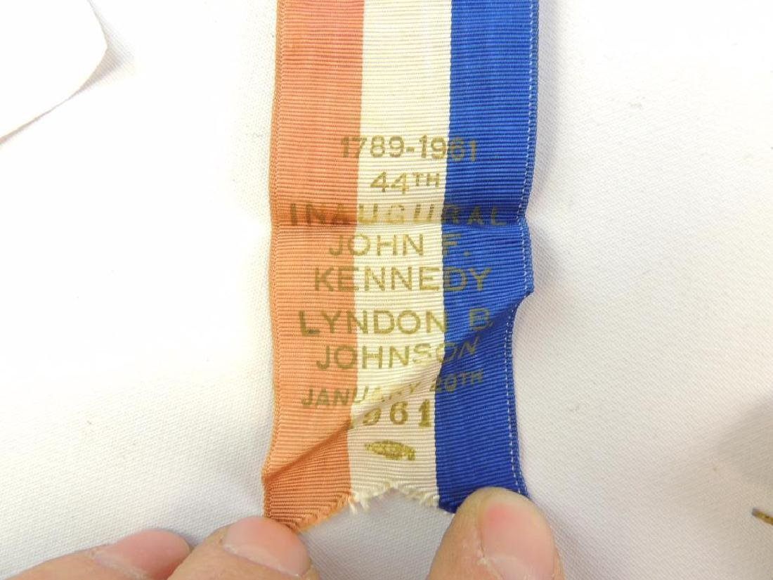 Group of 1961 Presidential Inauguration Medal and Pin - 4