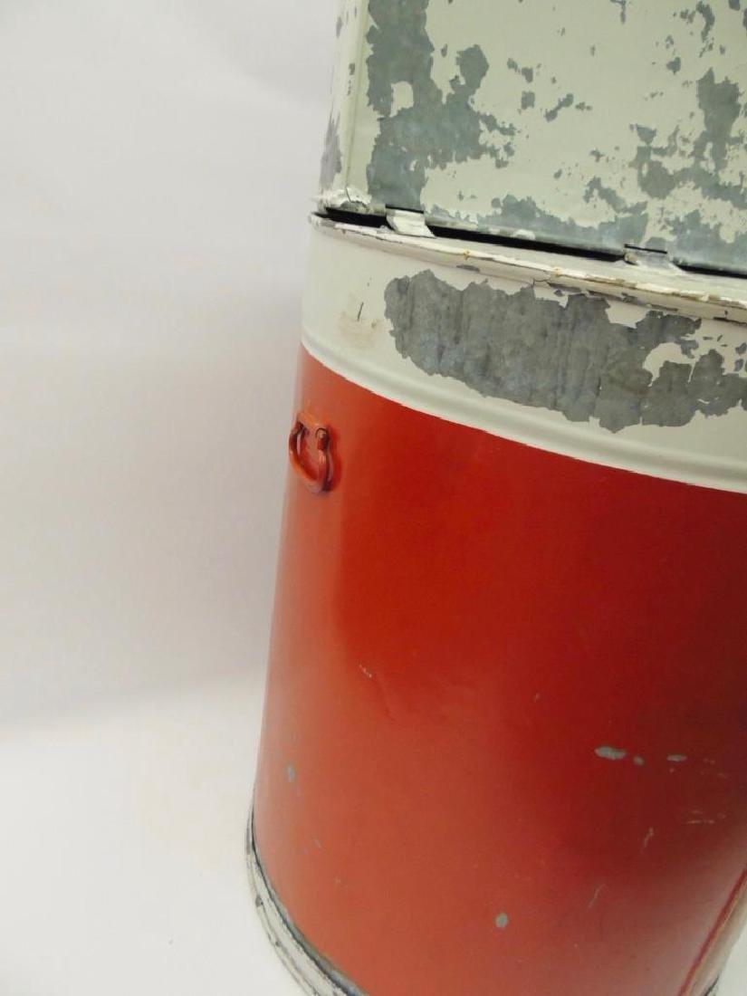 Vintage Mobil Oil Gargoyle Advertising Parts Washer - 6