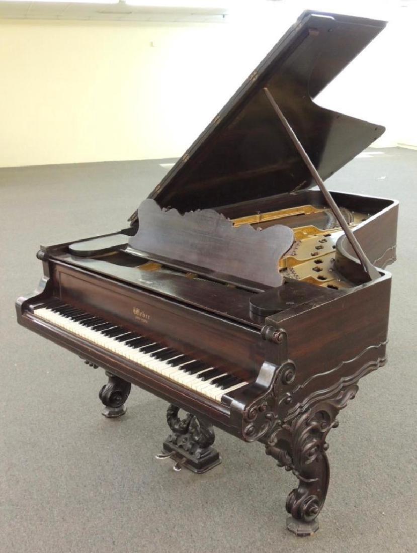 Weber Rococo Style Victorian Concert Grand Piano