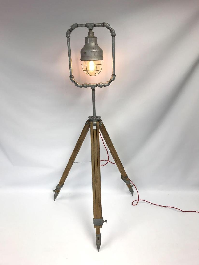 Primitive Handmade Work Light with Explosion Proof - 3