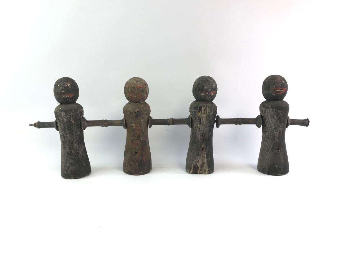 Antique Black Americana Carnival Shooting Game Figures
