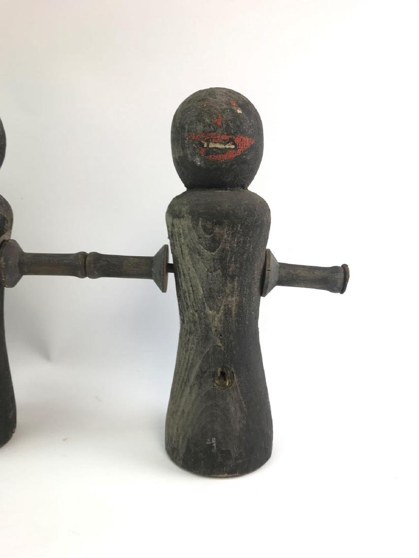 Antique Black Americana Carnival Shooting Game Figures - 2