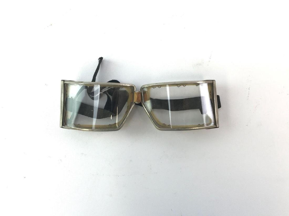 Pair of Vintage Motorcycle/Aviation Goggles
