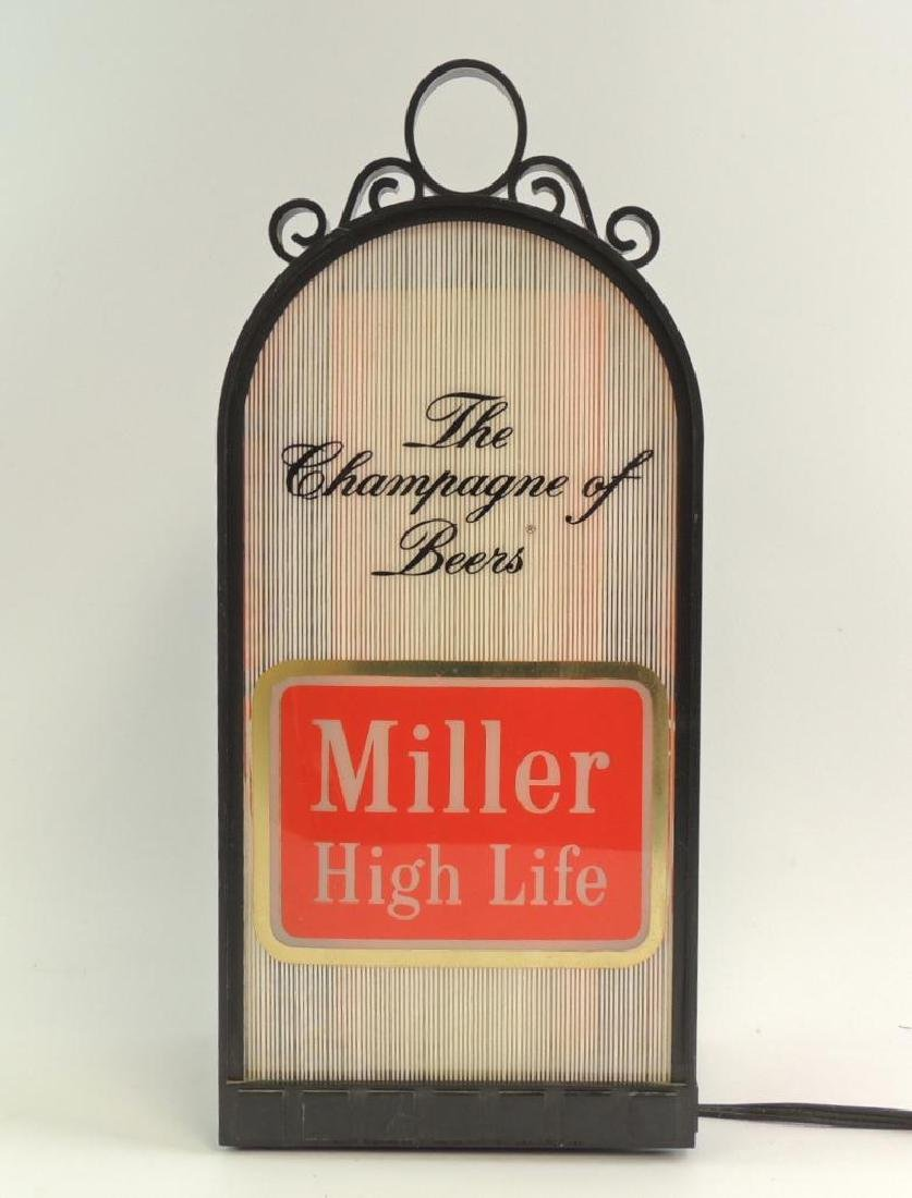 """Vintage Miller High Life """"The Champagne of Beers"""" Light"""