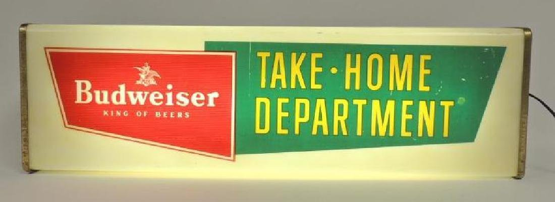 Vintage Budweiser Take Home Department Advertising