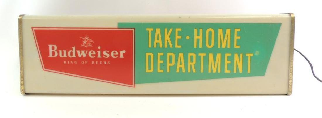 Vintage Budweiser Take Home Department Advertising - 2