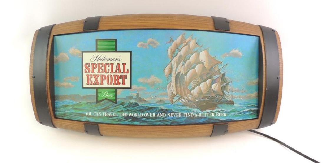 Vintage Heileman's Special Export Beer Advertising