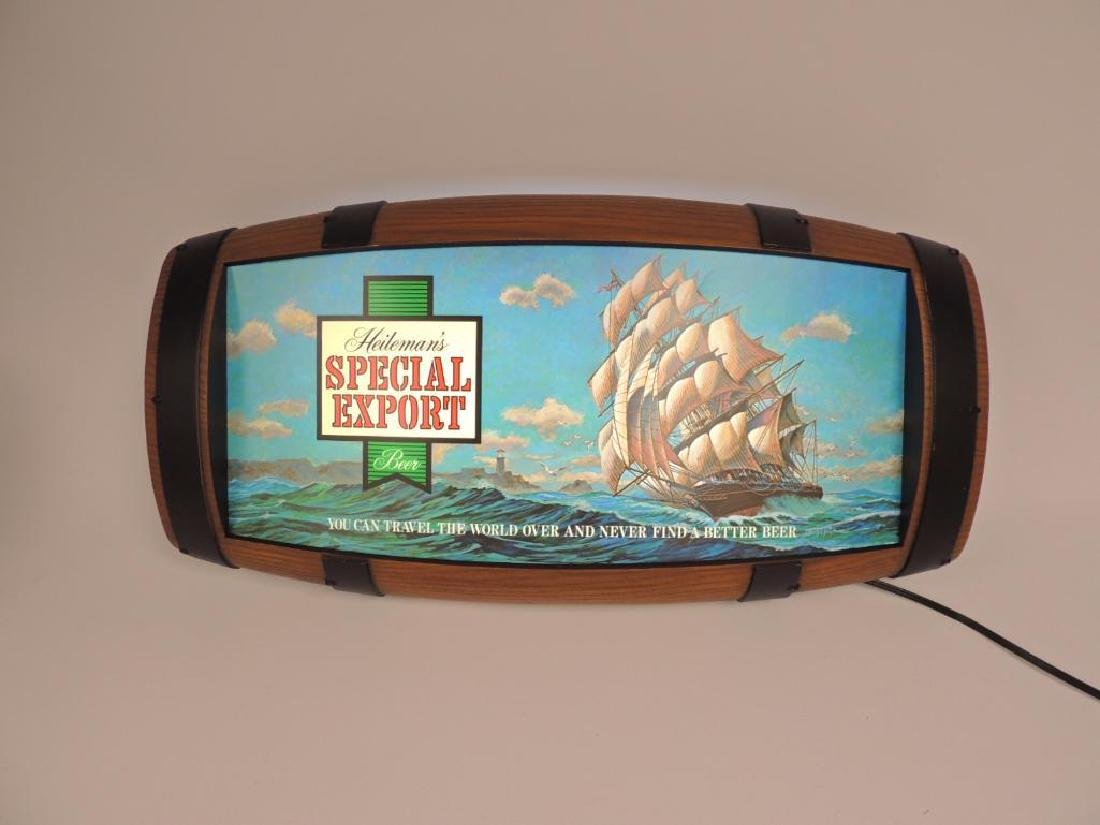Vintage Heileman's Special Export Beer Advertising - 2