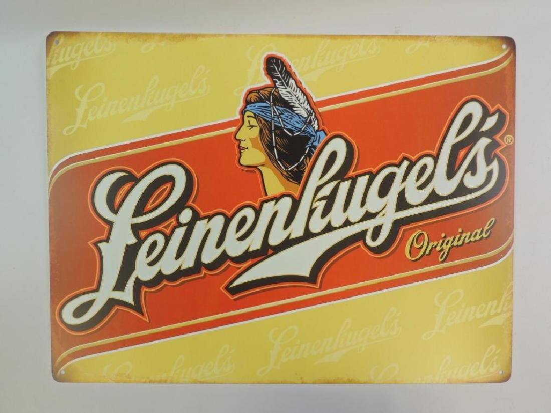 New Leinenkugel's Original Advertising Metal Beer Sign