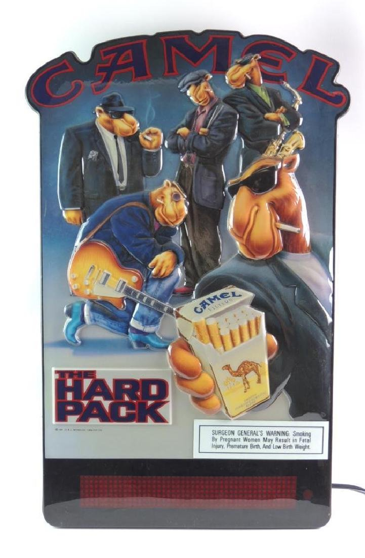 "Camel Cigarettes ""The Hard Pack"" Advertising Light Up"