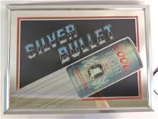 "Vintage Coors Light ""Silver Bullet"" Advertising Light"