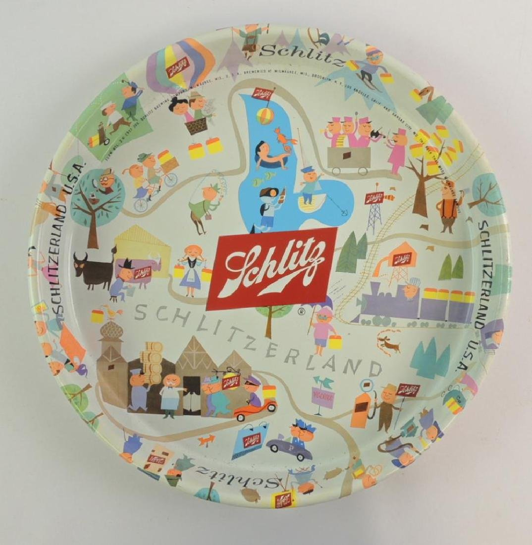 Vintage Schlitz Beer Advertising Beer Tray