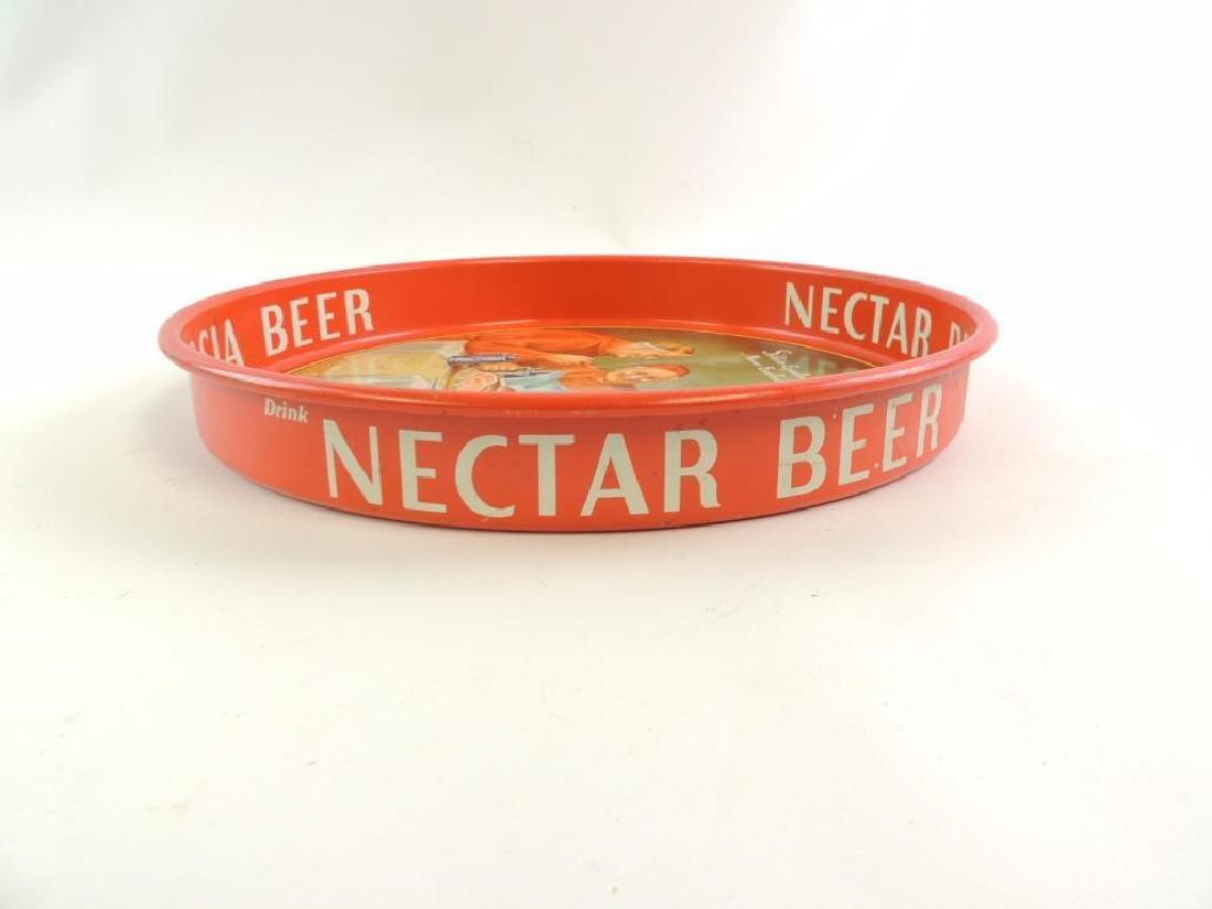 Vintage Nectar Beer Advertising Beer Tray - 2