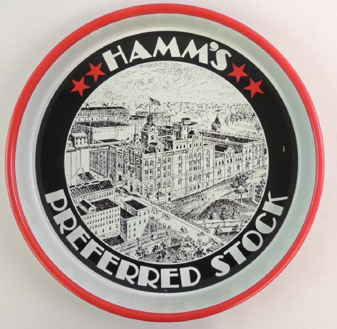 Vintage Hamm's Beer Preferred Stock Advertising Beer