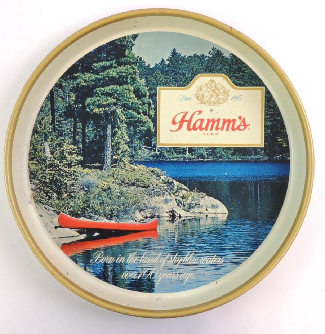 Vintage Hamm's Beer Advertising Beer Tray