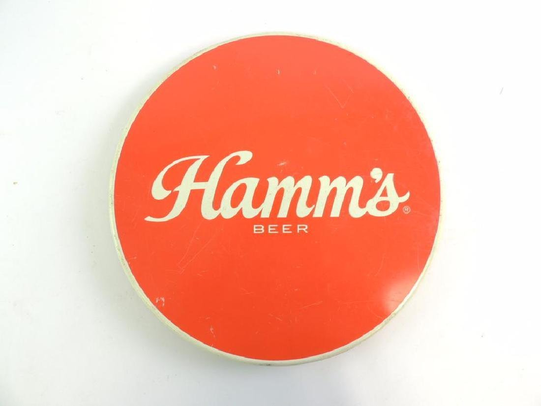Vintage Hamm's Beer Advertising Beer Tray - 2