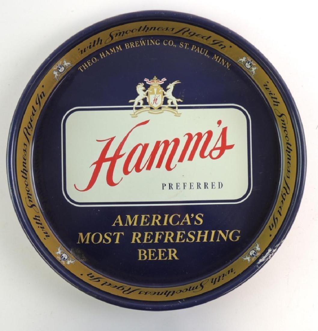 Vintage Hamm's Beer Advertising Beer Tray