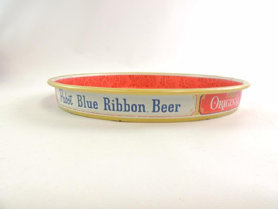Vintage Pabst Blue Ribbon Advertising Beer Tray - 4
